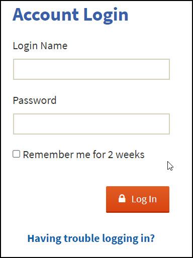 login screen 2